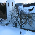 St Gerold in the snow