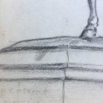 Dinan statue detail
